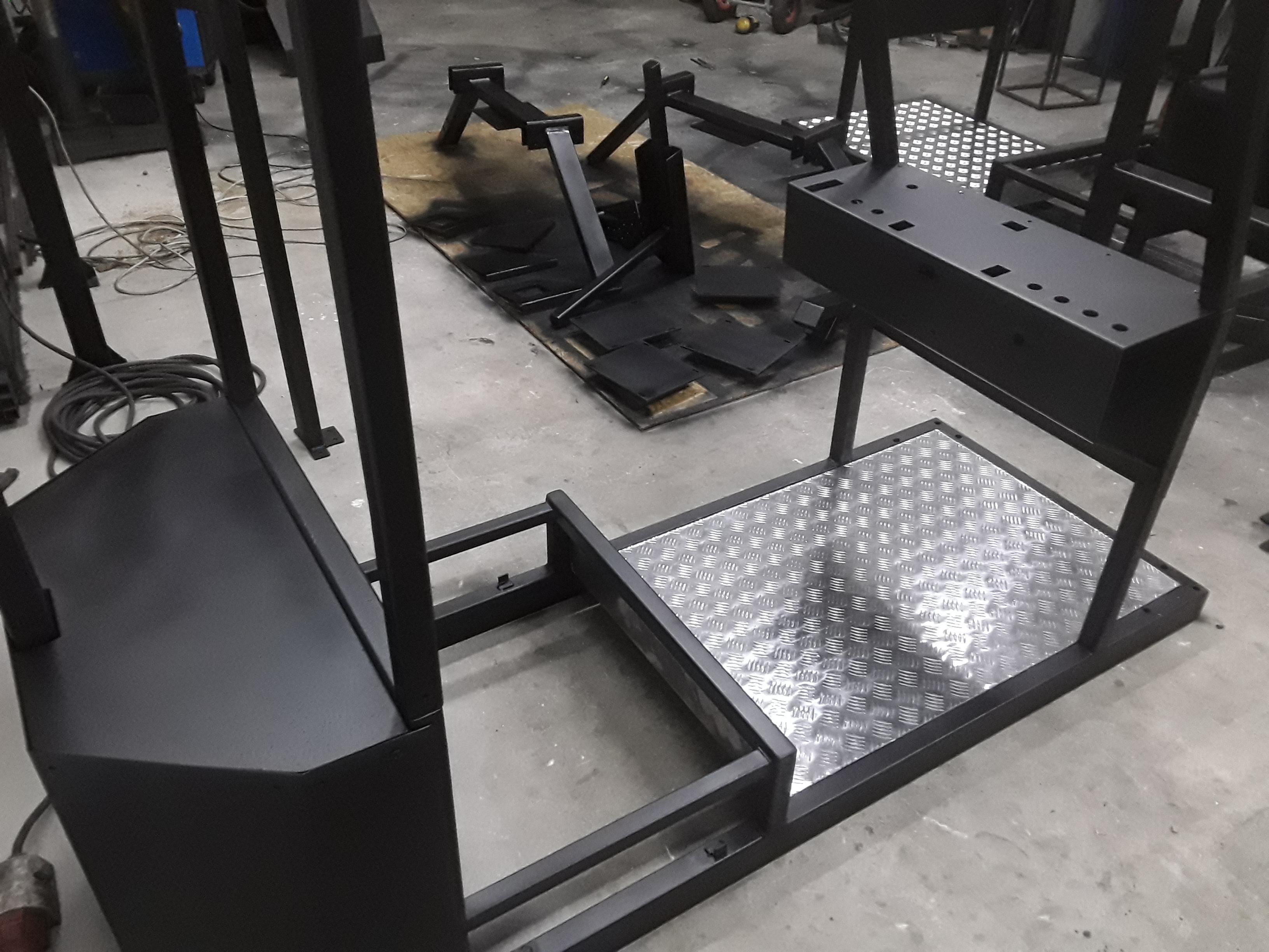 konstrukcje pod symulatory dla wojska